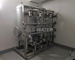 Adoucisseur industriel bi-duplex, tout inox. CLS-WATER, TRAITEMENT DES EAUX