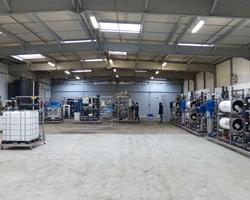 90 m3/h de production par osmose inverse. CLS-WATER, traitement des eaux industrielles