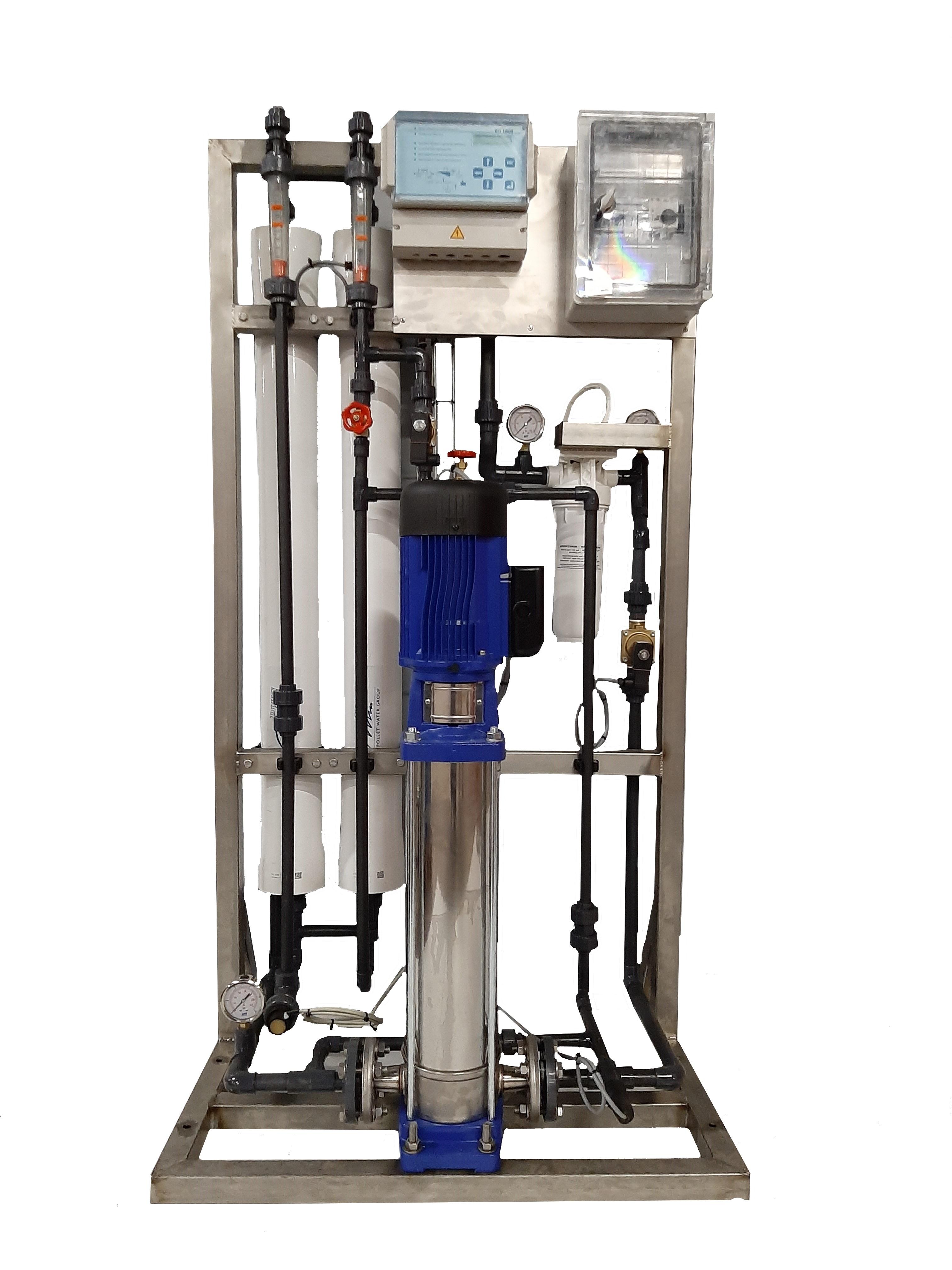 Unités d'osmose inverse industrielle série standard.