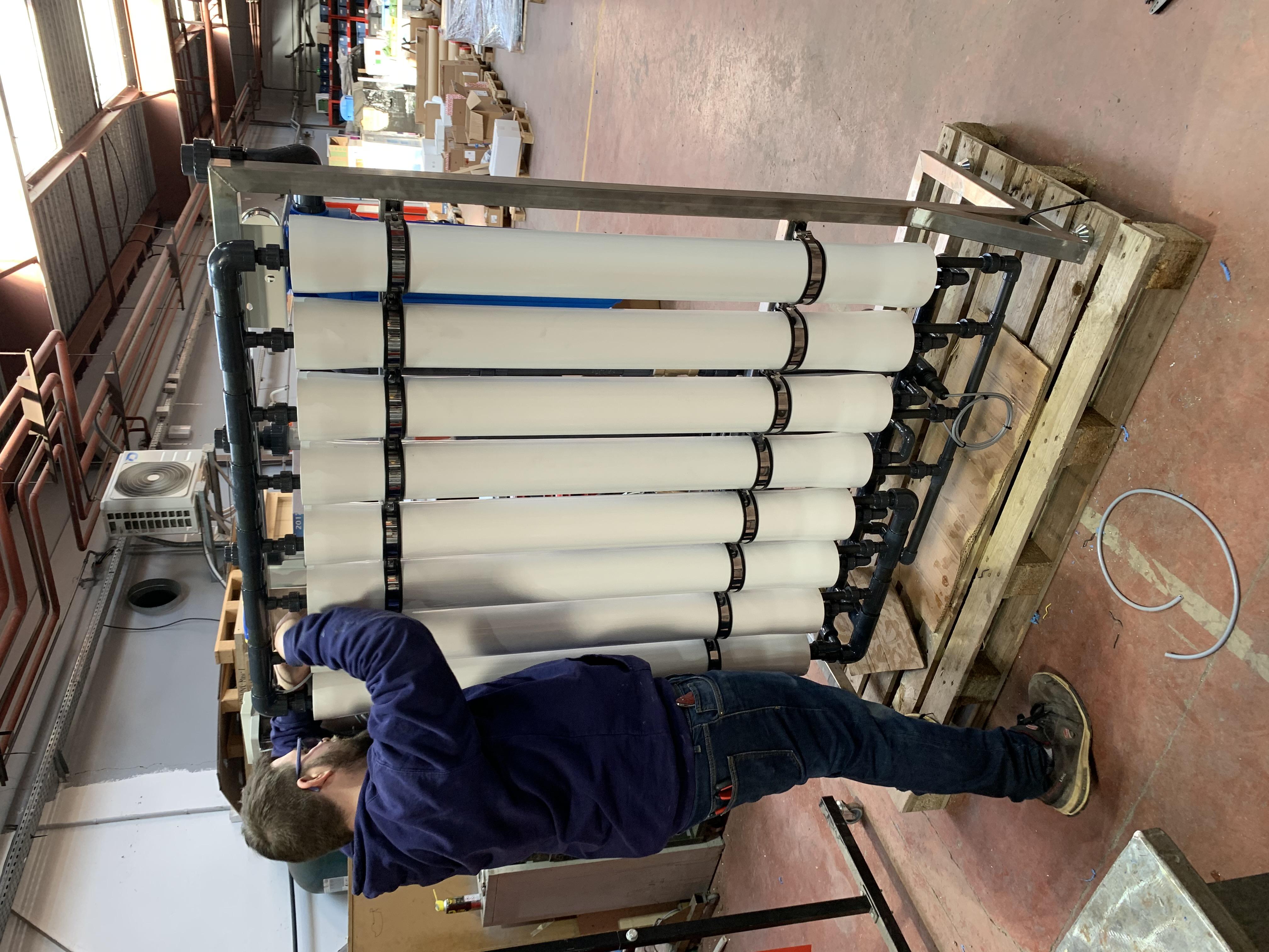 Nous concevons, fabriquons et testons vos installations dans nos ateliers.
